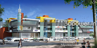3D View Of  Multiplex