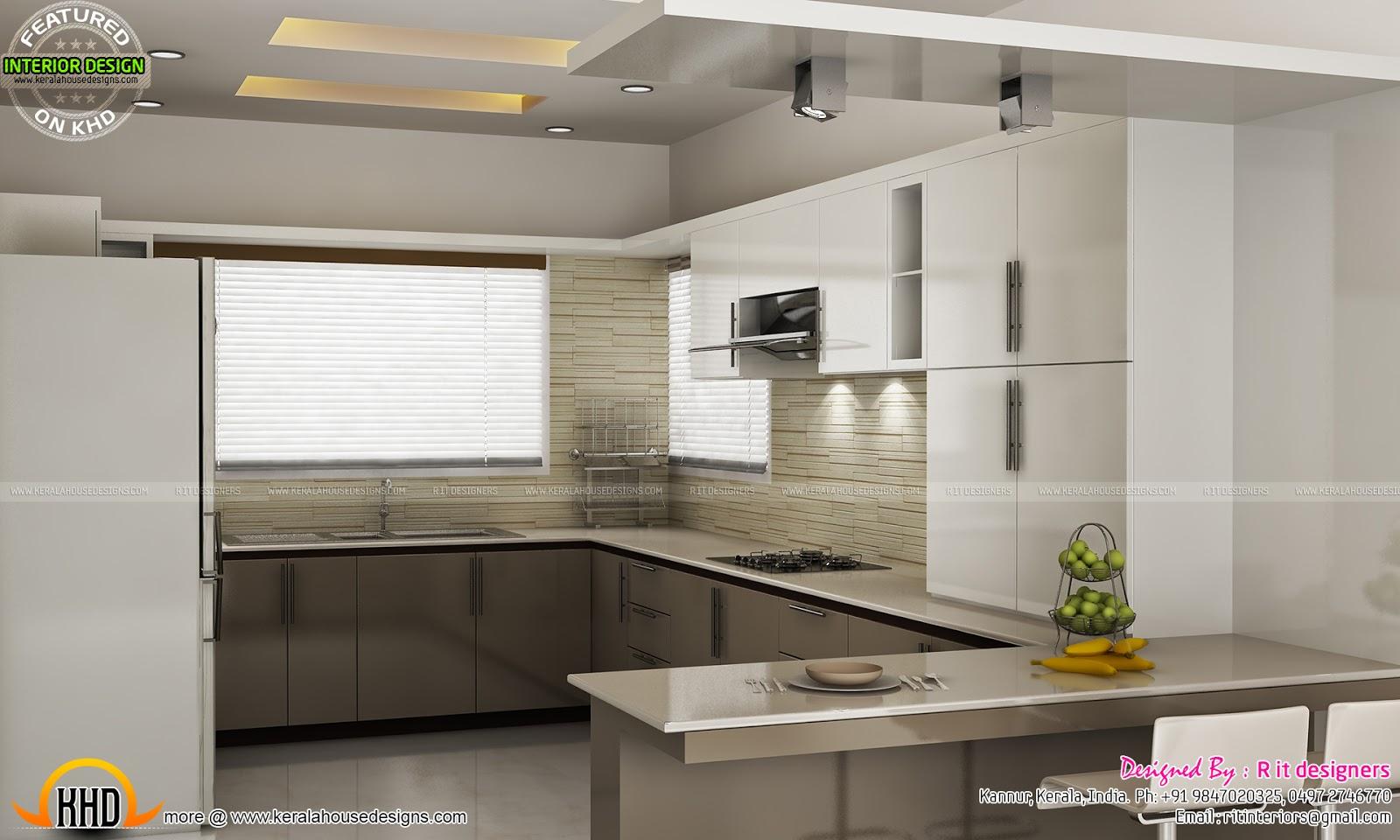 Modular Kitchen Bedroom Teen Bedroom And Dining Interior