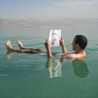 Laut mati, berenang, tenggelam, keajaiban, garam