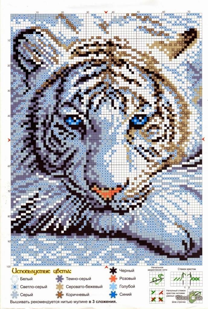 """Превосходная схема """"Тигр"""" ."""