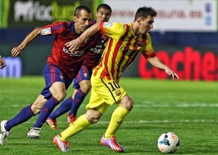 Andrés Iniesta, Cesc, Javi Gracia, Messi, Neymar, Puyol, Tata Martino,