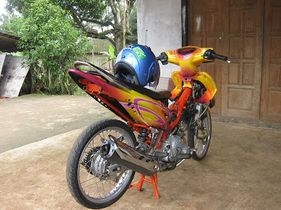 Foto Modifikasi Jupiter Mx New 2013