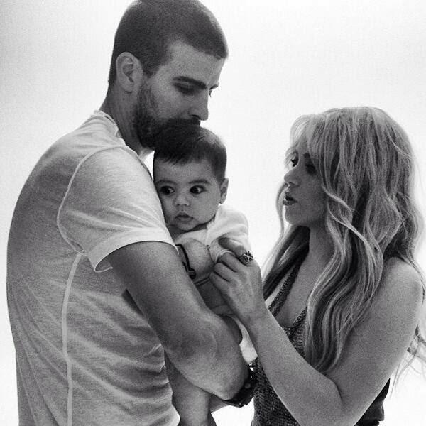 Fotos Shakira Pique Milan Shakira Gerard Piqué y Milan