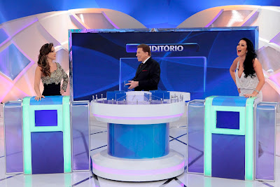 Nadja, Silvio e Helen (Crédito: Lourival Ribeiro/SBT)