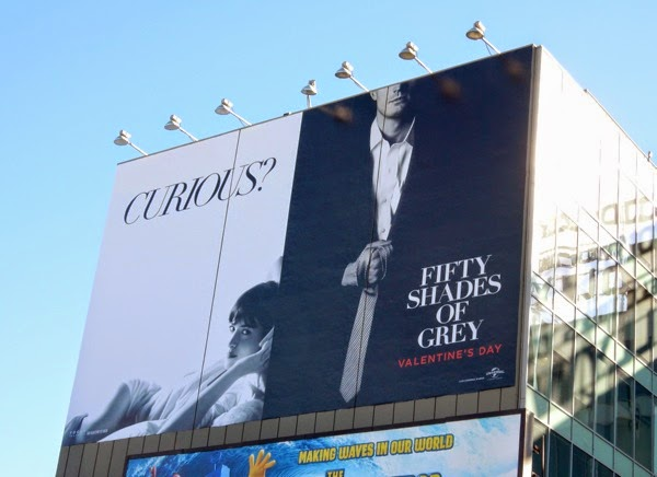 Fifty Shades of Grey film billboard