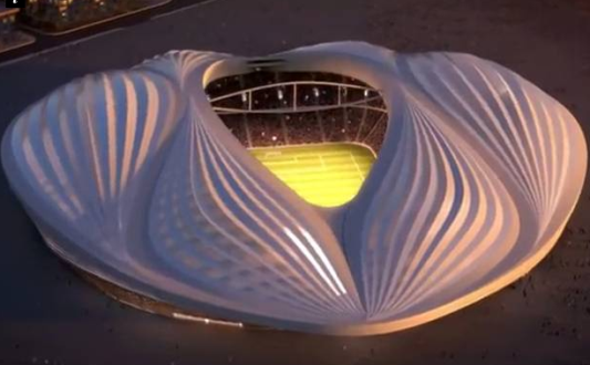 Qatar Unveil Stadium That Looks Like Woman's Private Part For  2022 World Cup