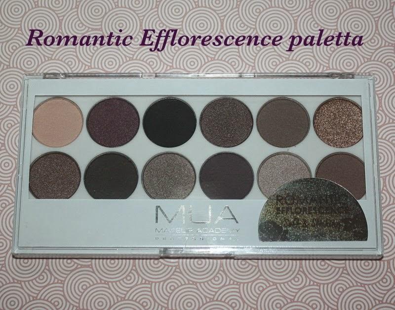 .MUA Romantic Efflorescence paletta