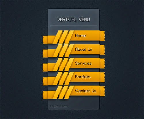 How To Create Vertical Menu With Ribbon