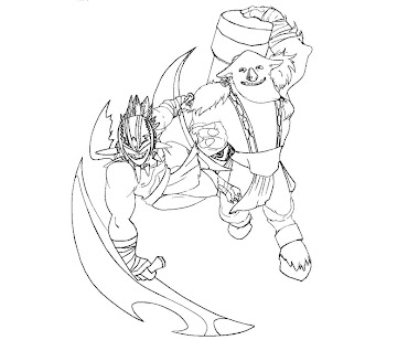 #25 Dota 2 Coloring Page