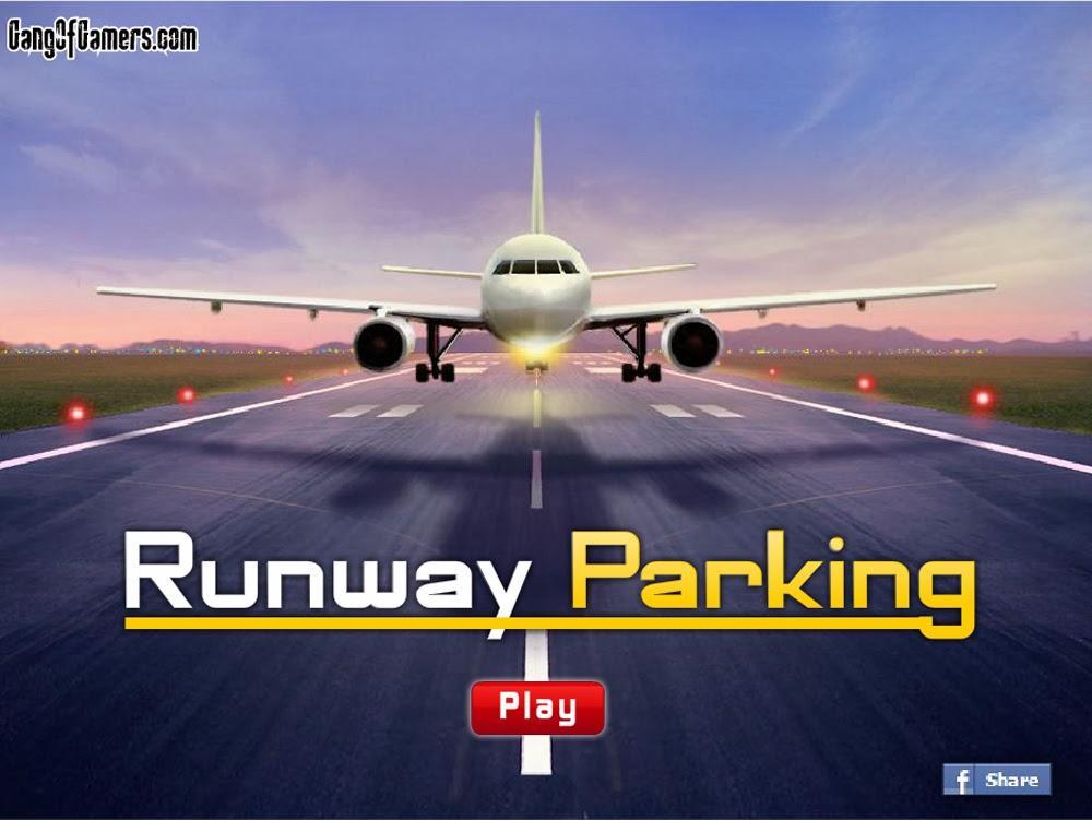 لعبة باركن الطائرات Runway Parking اون لاين