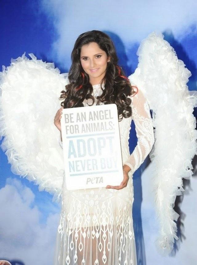 Sania Mirza at PETA Event Photo Stills