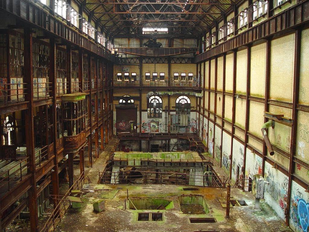 Abandoned Coal Plant