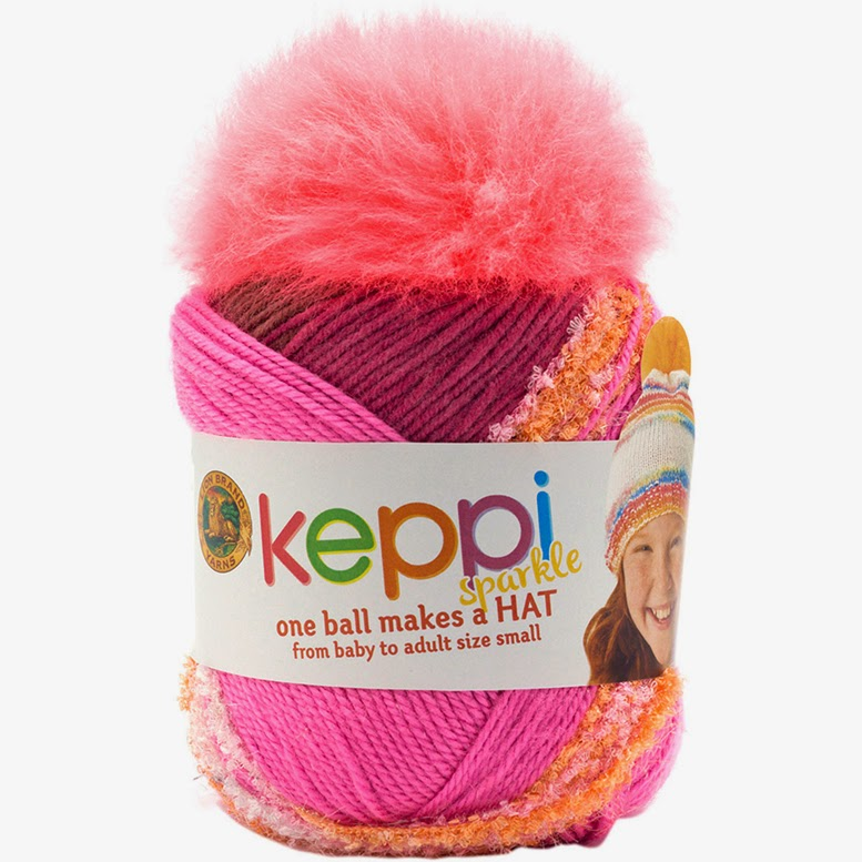 One ball off Keppi yarn will make 1 hat! POMPOM INCLUDED.