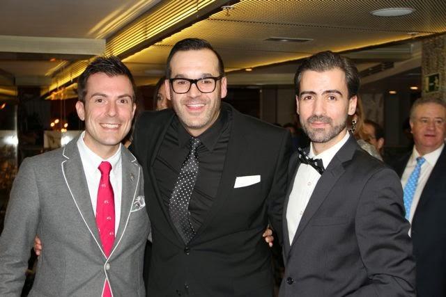 Alex Rodríguez, Diego Sandoval y Miguel Pérez. Blog Esteban Capdevila