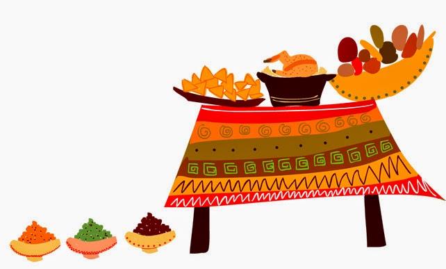 La maison des foug res repas th matique f te du quartier - Specialite africaine cuisine ...