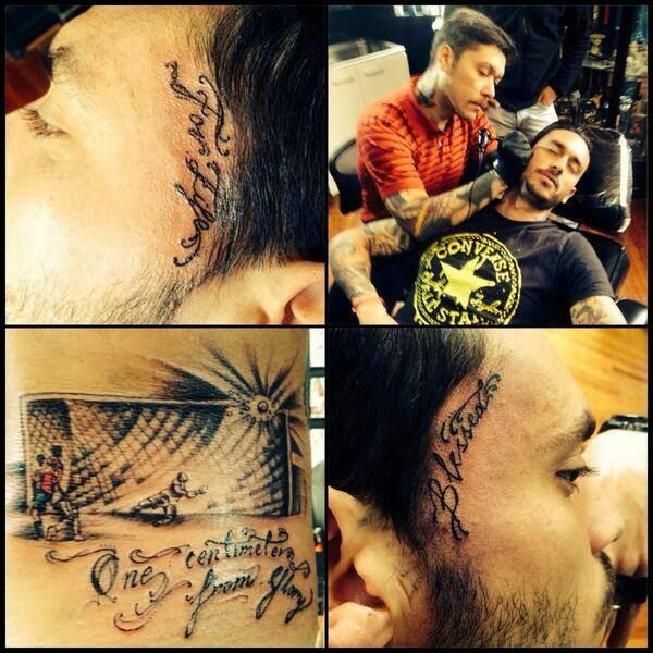 Tatuaje de Pinilla