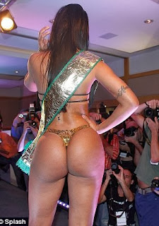 Exclusive Photos of  The winner (Dai Macedo)   of the Miss Bum Bum Contest