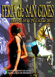 Gines - Cartel Feria 2011