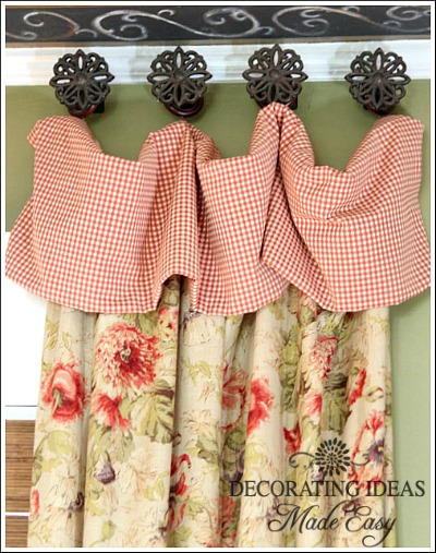 Cottage Style Window Treatments