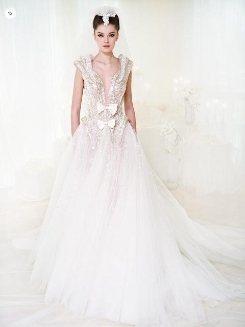 La mejor tendencia en vestidos de novia | Colección Ziad Nakad