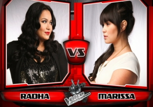 Radha Tinsay vs Marissa Saroca | The Voice of the Philippines Battle Rounds