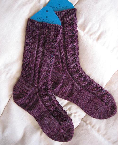Baudelaire Socks - free pattern