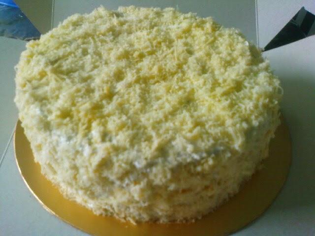 Tempahan Cheese Cake-spongy