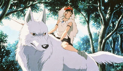 Hayao Miyazaki Princesa Mononoke