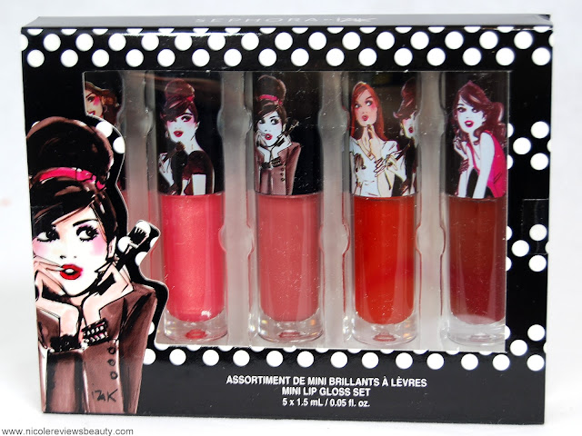 Sephora Collection Izak Mini Lip Gloss Set