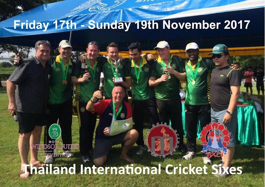 Thailand International Cricket Sixes