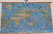 Physical Map of Australia and SouthEast Asia (mapoceanfloorheathsantiques)