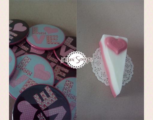 tarta jabon espejo personalizado detalles