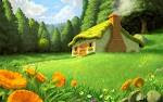 cabana de fada