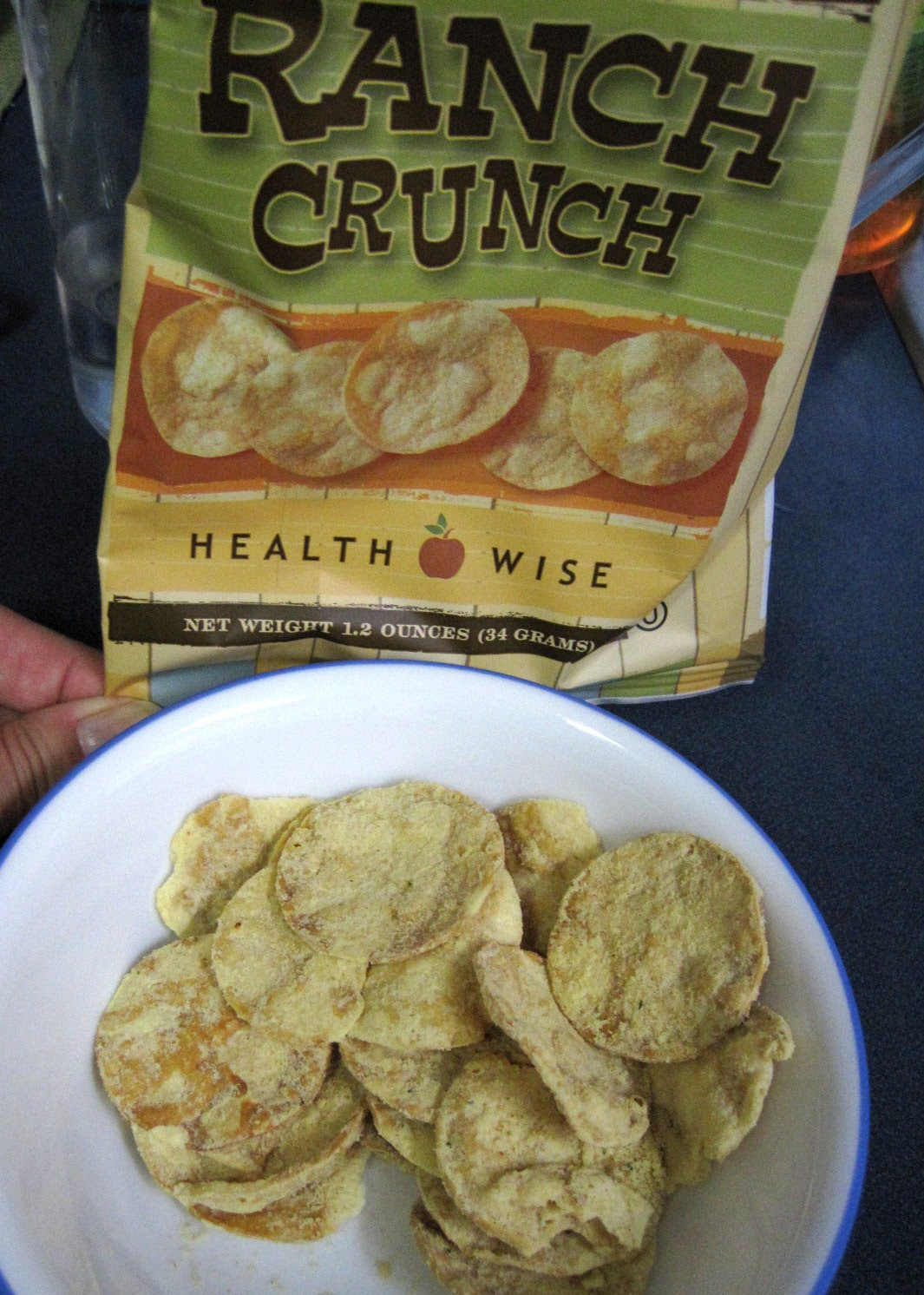 health wise Ranch low carb chips review
