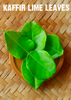 what is the difference between kaffir lime leaves and normal lime leaves?