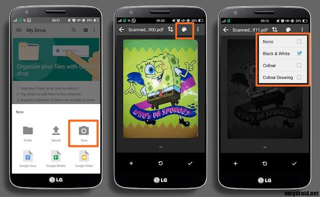 Cara Scan Documents Menggunakan Android