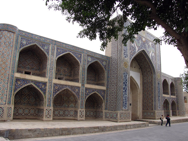Uzbekistán, Bukhara - madrasa Nadir Divabegi