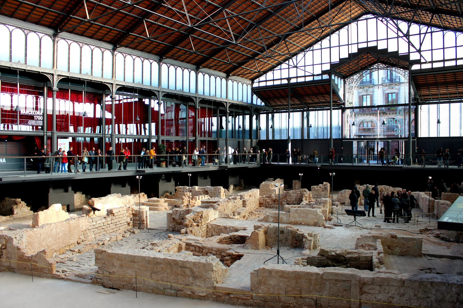Mercado del Born en Barcelona
