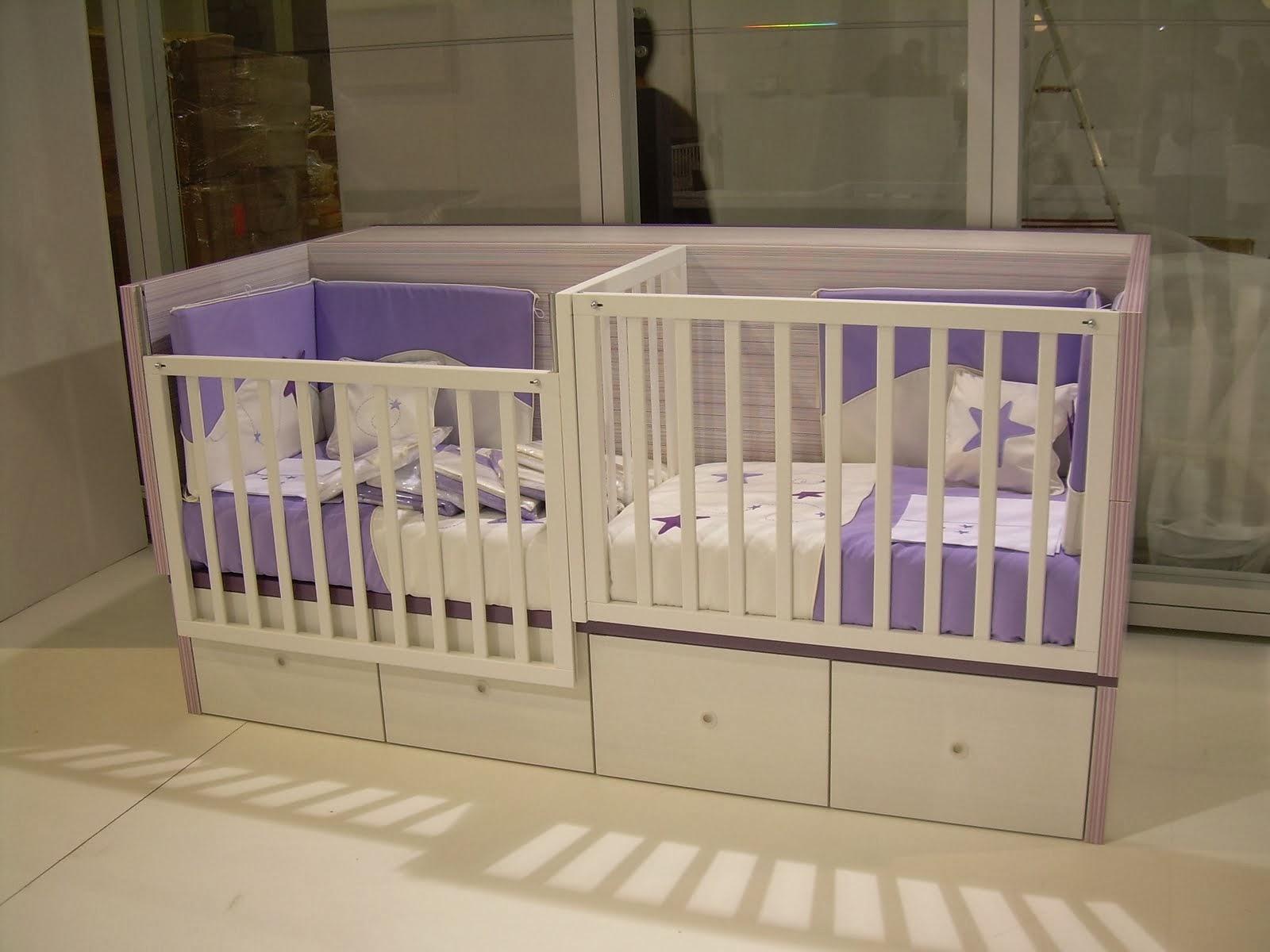 Babykamer Tweeling Ideeen : Tweeling bed ledikant archidev