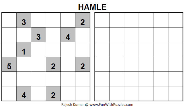HAMLE (Mini Puzzles Series #23)