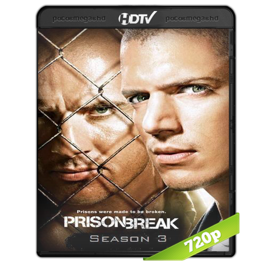 PRISON BREAK (TEMPORADA 3) BRRIP 720P AUDIO DUAL LATINO/INGLES