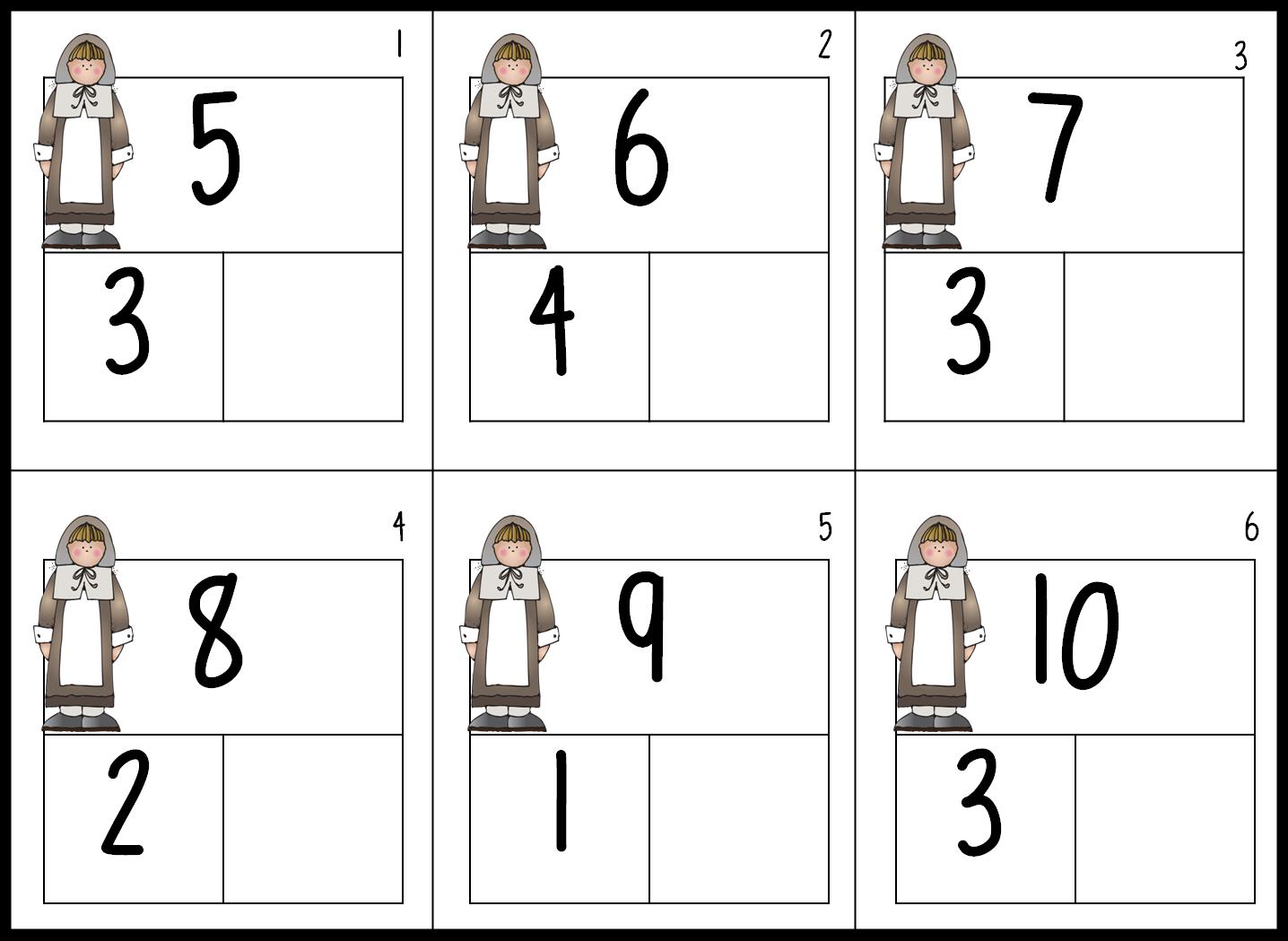 And Decomposing Numbers Worksheet Davezan – Decomposing Numbers Kindergarten Worksheets