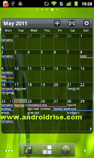 Pure Grid calendar widget Android App Download,