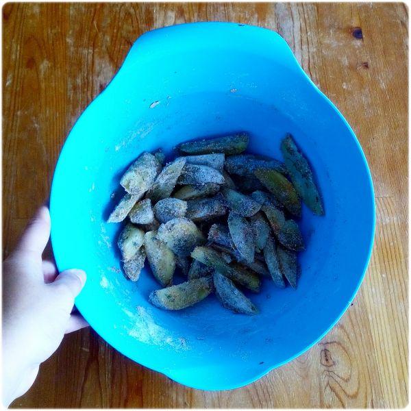 Receta patatas delux