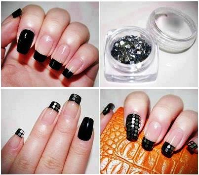 New simple nail artdesignsimagespictures for shortlong nails simple nail art design prinsesfo Choice Image