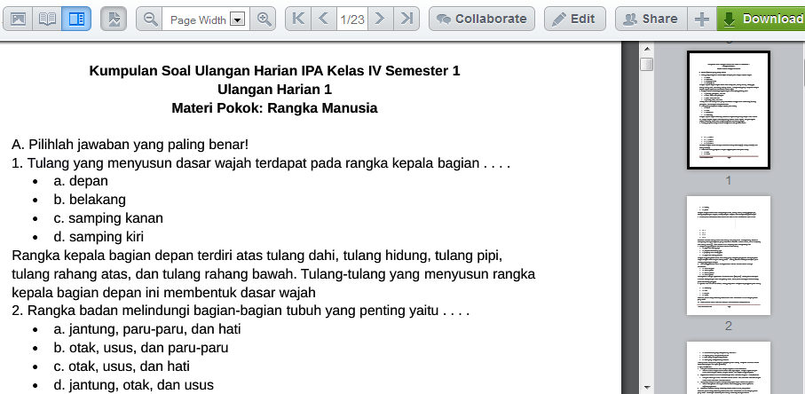 download rpp ipa kelas 4