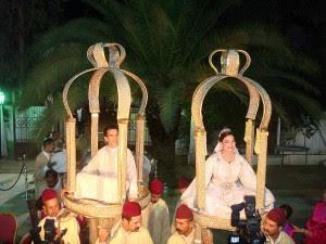 العرس المغربي  بالصور