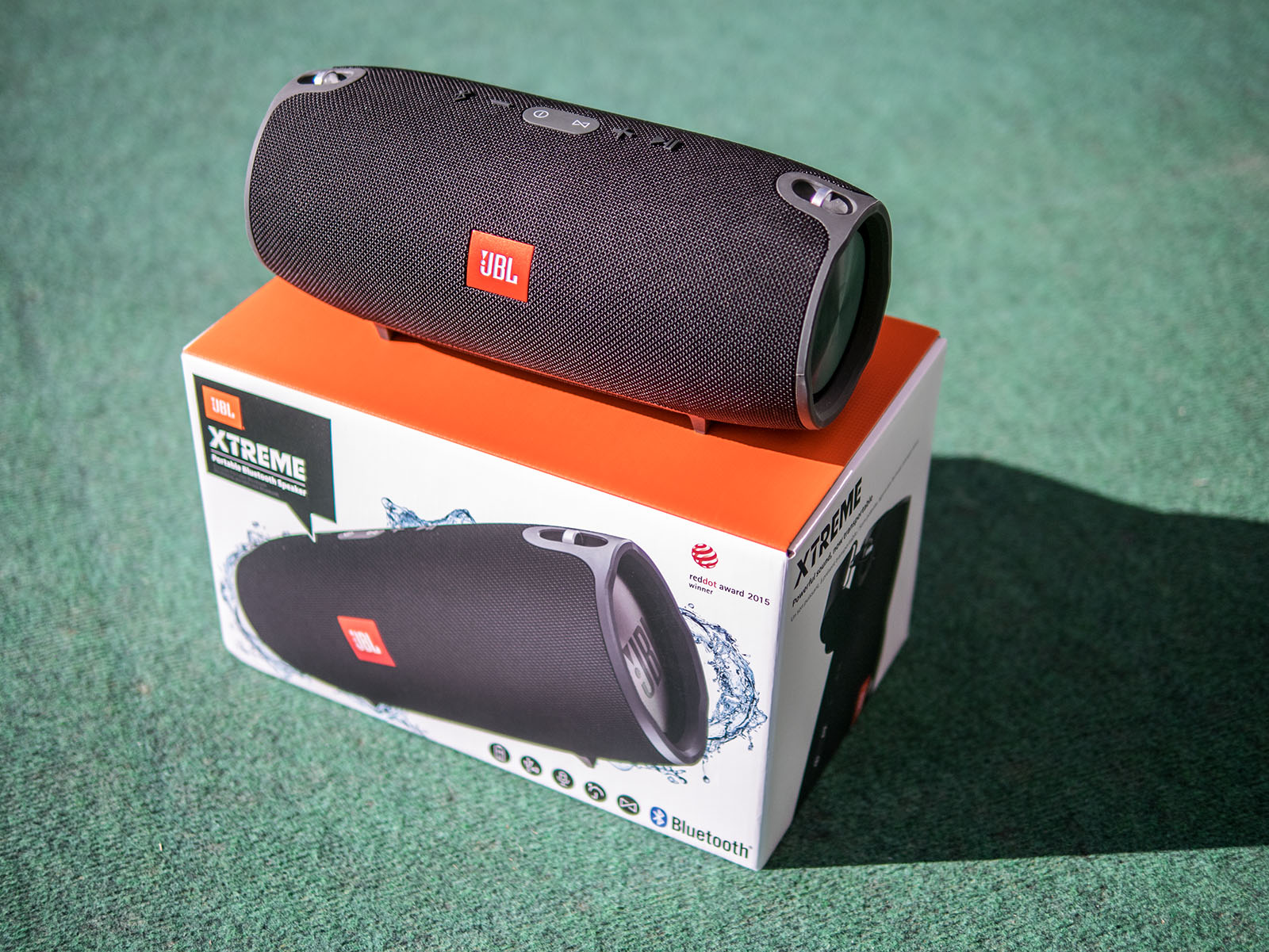 I actually like the strap and wel e that it is included now it makes the handling of the speaker more fortable because it is not that easy to grab it