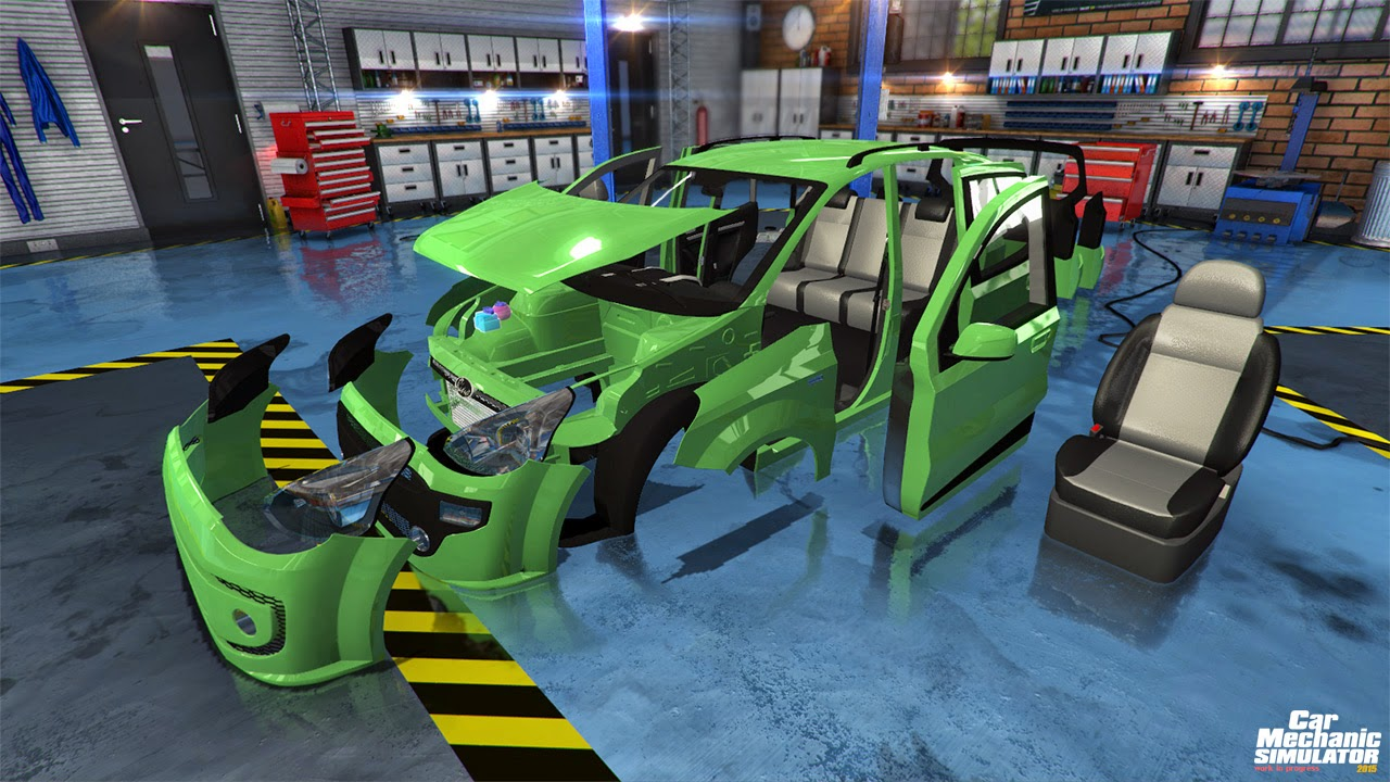 descargar Car Mechanic Simulator 2015 1 link