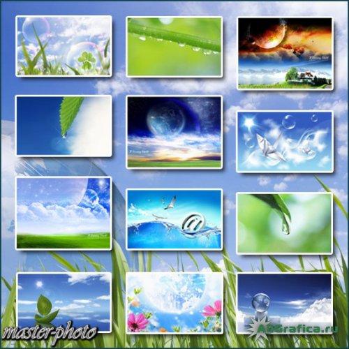 Doğa Ve Bahar Duvar Kağıtları